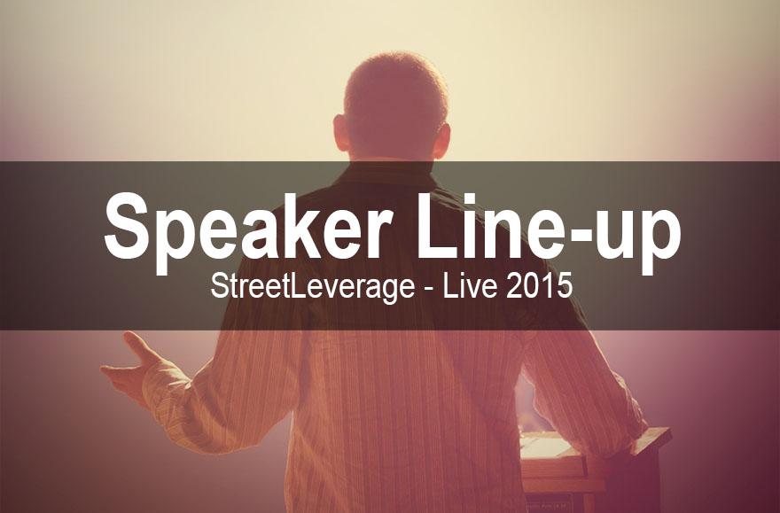 StreetLeverage - Live 2015 - Speakers