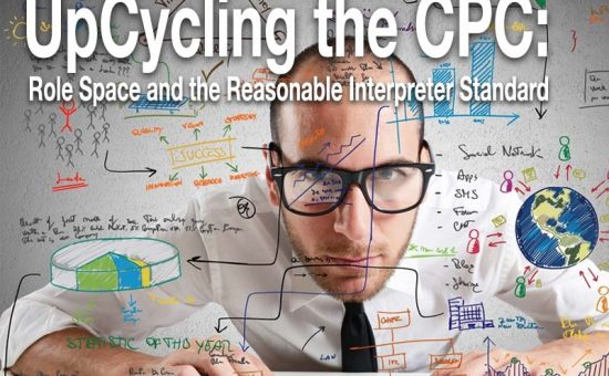 UpCycling the CPC