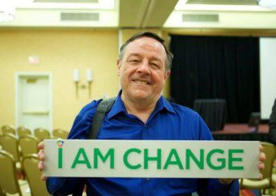 Dennis - I am change